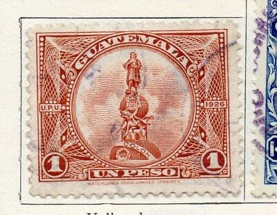 Guatemala 1925 Early Issue Fine Used 1P. 100939