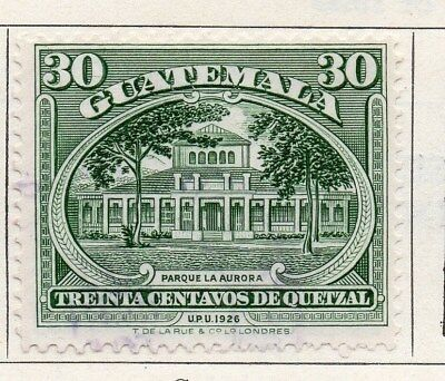 Guatemala 1929 Early Issue Fine Used 30c. 100958