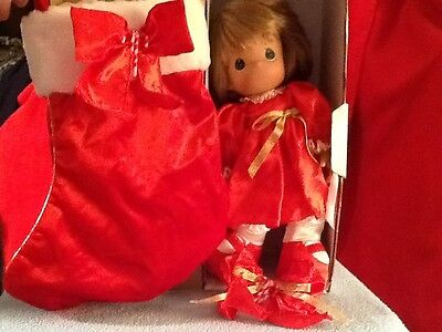 Precious Moments  Limited Edition Christmas Stocking Doll 2008 # 4098