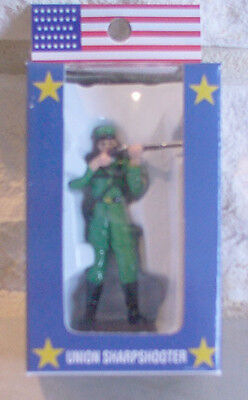 US Sharpshooter Metal Figurine, Civil War, New