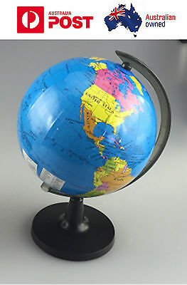 Portable table  diameter 18cm world globe map for child early education gift