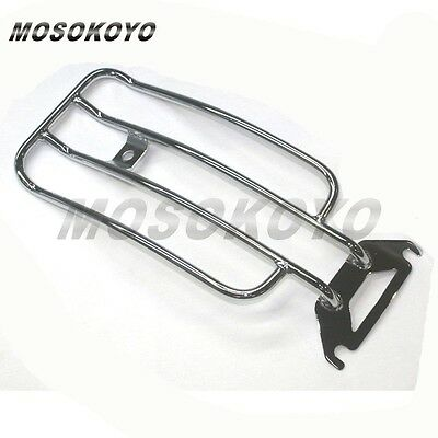 Chrome Steel Passerger Rear Fender Luggage Rack Fit Harley Electra Road Glide AU