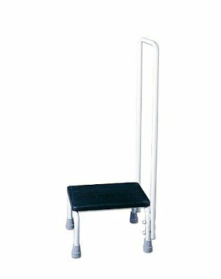 NRS Healthcare Step Stool and Hand Rail