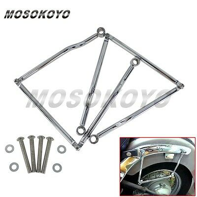 Motorcycle Saddlebag Support Bar Mount Bracket For Kawasaki Honda Yamaha Suzuki