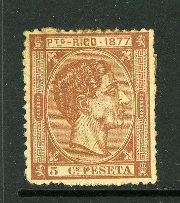 Puerto Porto Rico Stamps 13 Mint 1877 Issue MOG 5K21 1