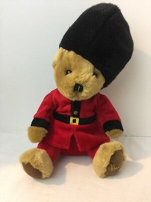 "Harrods of Knightsbridge plush teddy bear Royal Palace Guard 13"" Stuffed Animals"