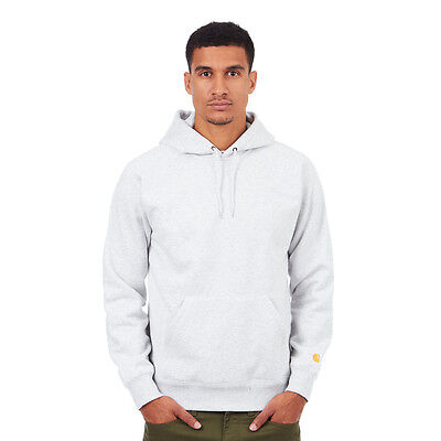 Carhartt WIP - Hooded Chase Sweater Ash Heather Kapuzenpullover Hooded Sweater