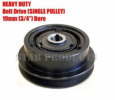 "HEAVY DUTY Centrifugal Clutch SINGLE PULLEY BELT DRIVE Type A 19mm 3/4""  #200636"