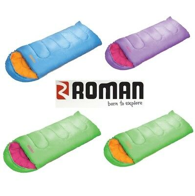 Roman Sleeping Bag Junior 400 Kids *Choose Your Colour*