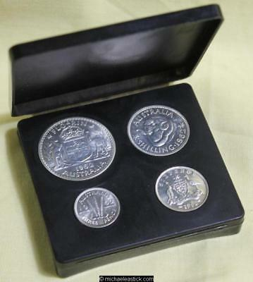 1962 Australia Proof Silver Coin Set, housed in plastic case