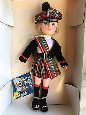 """Effanbee International Scotland Doll Never Removed From Box with Tags 11"""""""