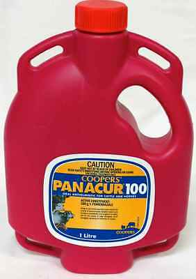 Panacur 100 - 1 Litre Horse Cattle Wormer