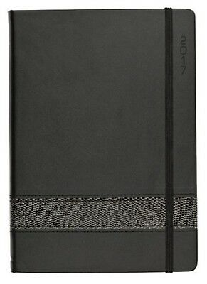 **CLEARANCE** 2017 Debden Vauxhall Prive Diary Diaries A5 Week To Open - Charcoa