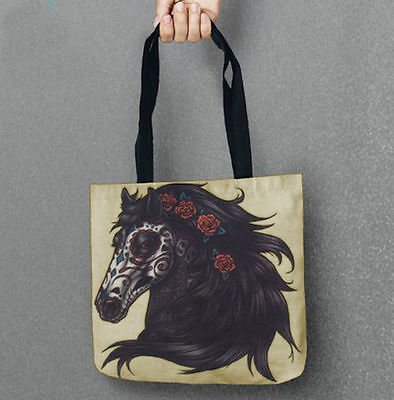 HORSE & WESTERN LADIES WOMENS GIRLS  ACESSORIES HORSE TOTE BAG b
