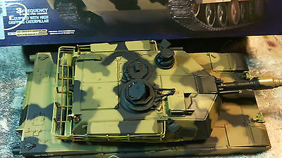 Heng Long 1 24 scale Abrams Fully Working  Upper Hull..