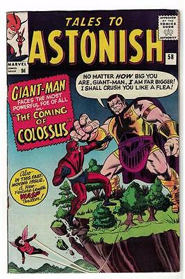 Marvel TALES TO ASTONISH 58 HULK  Ant man  FN-