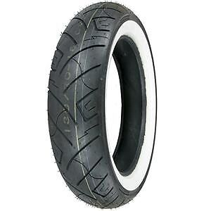Shinko 777 Whitewall Front 4-Ply Tire 140/80-17 TL 69H  87-4562