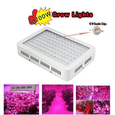 1000W 1200W LED Grow Light Full Spectrum Lamp Panel for Hydroponics Indoor Plant