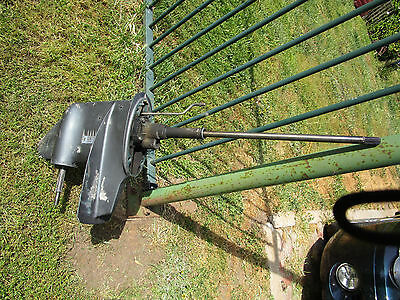 YAMAHA 25hp MARINER 30HP  OUTBOARD lower leg long shaft   GEAR BOX working