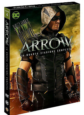 Arrow - Stagione 4 (5 Dvd) Serie Tv Dc Comics Lingua Italiana
