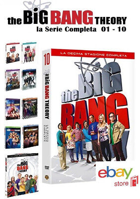 The Big Bang Theory - La Serie Tv Completa 01 - 10 (31 Dvd)