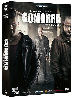 Gomorra 2 - Seconda Stagione (4 Dvd) Serie Tv Italiana