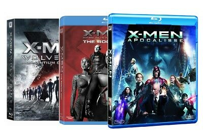 X-MEN - La Collezione Completa 01-08 (9 DVD) Adamantium + Rogue Cut + Apocalisse