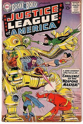 the brave and the bold 29 vg. 2nd justice league of america