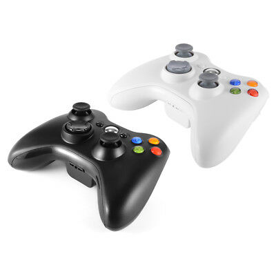 Black/White Wireless Bluetooth Game Controller Gamepad Joystick for Xbox 360