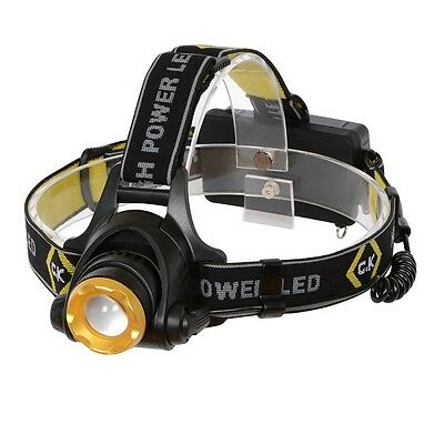 CK High Power Rechargeable CREE LED Head Torch 200 Lumens 3-Modes - T9620R