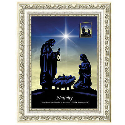 USPS New Nativity Framed Art