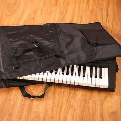 76 Key Keyboard Electric Piano Organ Soft Padded Gig Bag Carry Case Cover Music