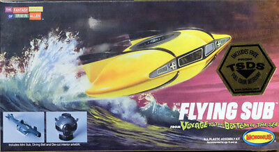 Flying Sub Mini Voyage to the Bottom of the Sea Seaview 1:128 Model Moebius 101