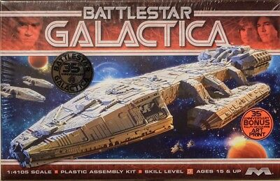 Battlestar Galactica Original in 1:4105 Model Kit Moebius 942 Kampfstern