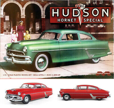 1952 hudson hornet mel 39 s drive in 1 25 model kit bausatz. Black Bedroom Furniture Sets. Home Design Ideas