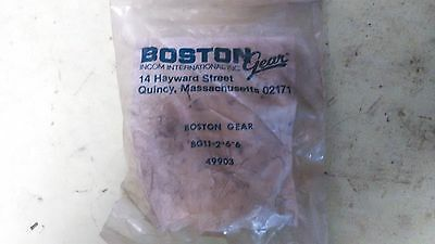 "Boston Gear Shaft Coupler BG-2-6-6 3/8"" Bore 1-3/4"" OAL"