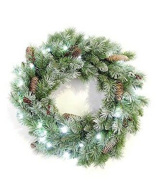 24″ Battery Operated Wreath