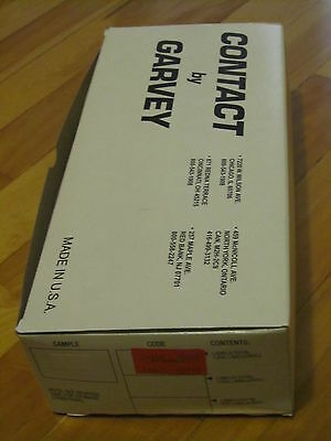 complete box  CONTACT by GARVEY FX2212 white labels 04500