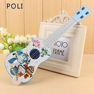 Lot Cartoon Poli plastic guitar simulation instrument Kids music Toys O258