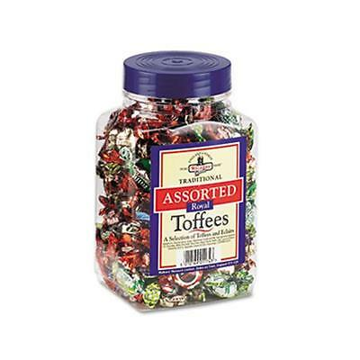 Office Snax 94054 Walker`s Assorted Toffee 2.75lb Plastic Tub