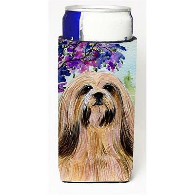 Lhasa Apso Michelob Ultra bottle sleeves for slim cans 12 oz.