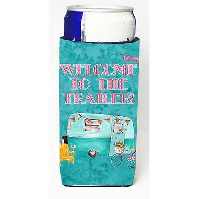 Welcome To The Trailer Retro Glamping Trailer Michelob Ultra bottle sleeves F...