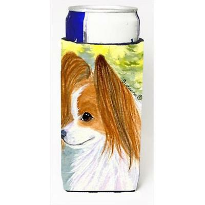 Carolines Treasures Papillon Michelob Ultra bottle sleeves For Slim Cans