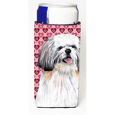 Shih Tzu Hearts Love and Valentines Day Portrait Michelob Ultra bottle sleeve...