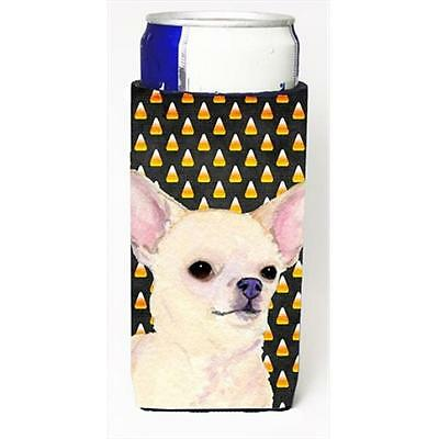 Chihuahua Candy Corn Halloween Portrait Michelob Ultra bottle sleeves For Sli...