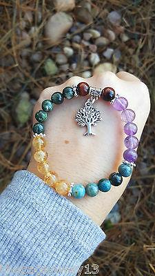 The Eliminator Bracelet~Natural~Handcrafted~Wiccan~Weight~Apatite~Citrine~Diet