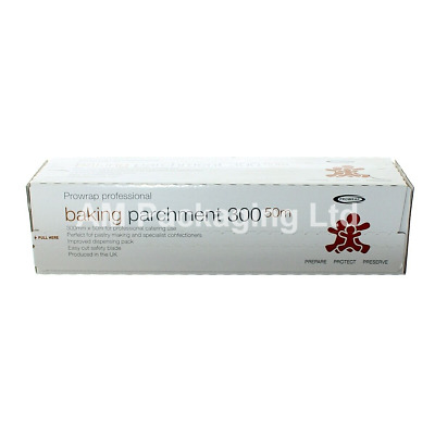 Baking Parchment 300 mm x 50 meter Cutter box ProWrap Professional  (PP0057)
