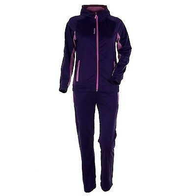 Reebok Girls Tracksuit in Pink / Purple Jogging Training Set Casual Sporty 152cm