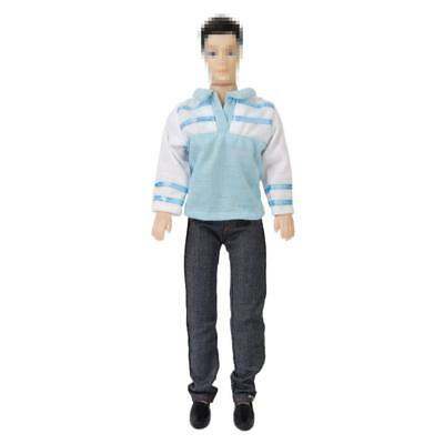 Barbie Muñeca Ropa Casual Outfit Para Ken Doll / T-shirt and Pants Set Ropa New