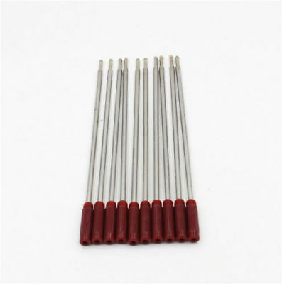 10 CROSS Type Ballpoint Pen Refills - RED med